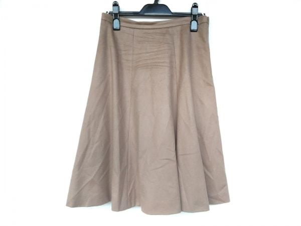 マックスマーラスタジオ スカート サイズ38 M レディース新品同様  ライトブラウン