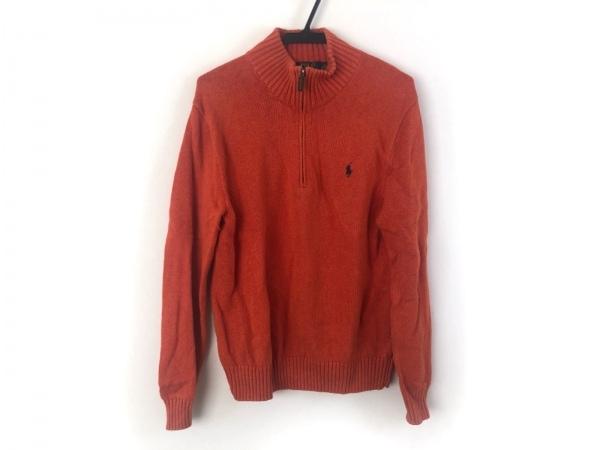 POLObyRalphLauren(ポロラルフローレン) 長袖セーター サイズS メンズ オレンジ