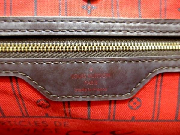 ルイヴィトン トートバッグ ダミエ ネヴァーフルGM N51106 エベヌ ダミエ・キャンバス