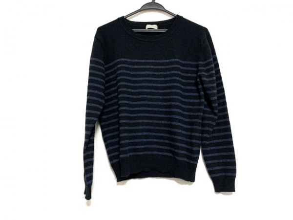 マーガレットハウエル 長袖セーター サイズ2 M レディース美品  ボーダー