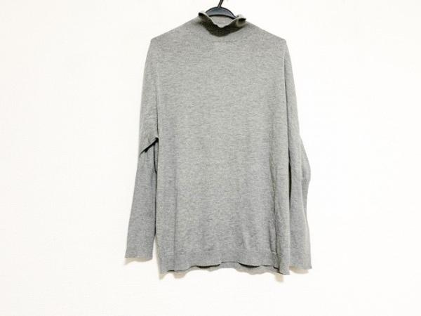 JILSANDER(ジルサンダー) 長袖セーター サイズ36 S レディース美品  グレー