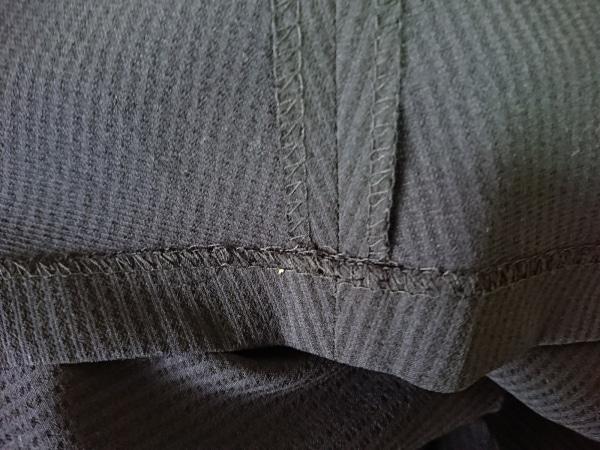 RHYME(ライム) スカートスーツ サイズS レディース ネイビー×黒 ストライプ
