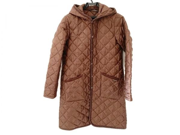 ラベンハム コート サイズ38 M レディース ダークブラウン 冬物/キルティング