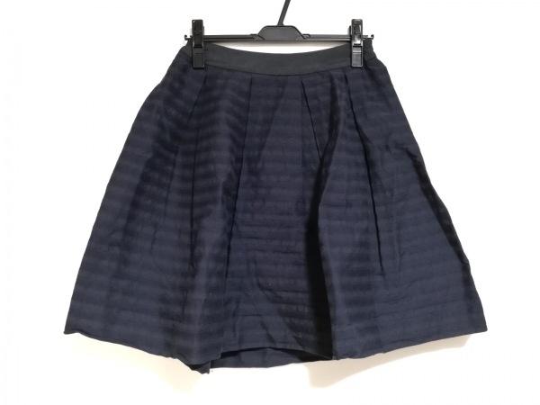 COTOO(コトゥー) スカート サイズ38 M レディース美品  ダークネイビー×黒