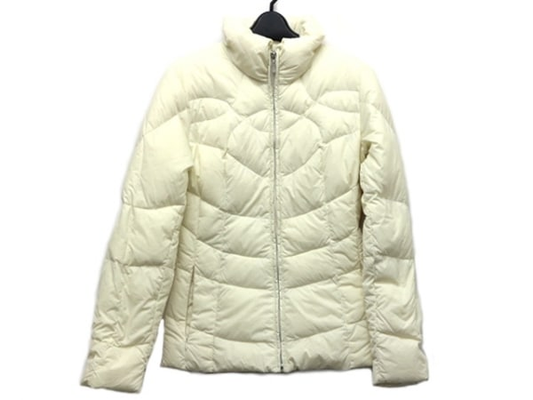 ICB(アイシービー) ダウンジャケット サイズ9 M レディース美品  アイボリー 冬物