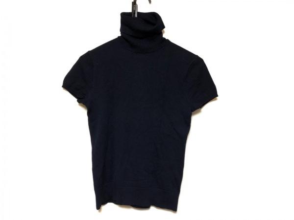 RalphLauren(ラルフローレン) 半袖セーター サイズM レディース美品  ダークネイビー
