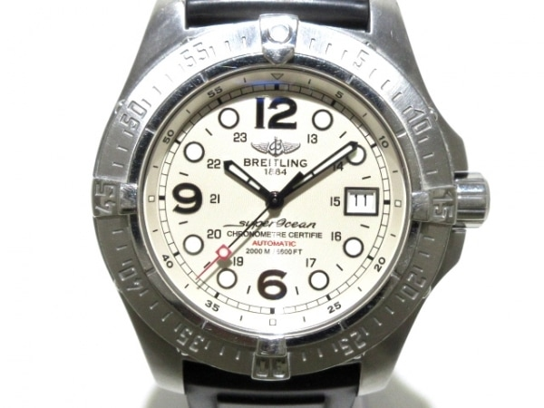 ブライトリング 腕時計 スーパーオーシャン A17390/A179G91DPR メンズ ベージュ