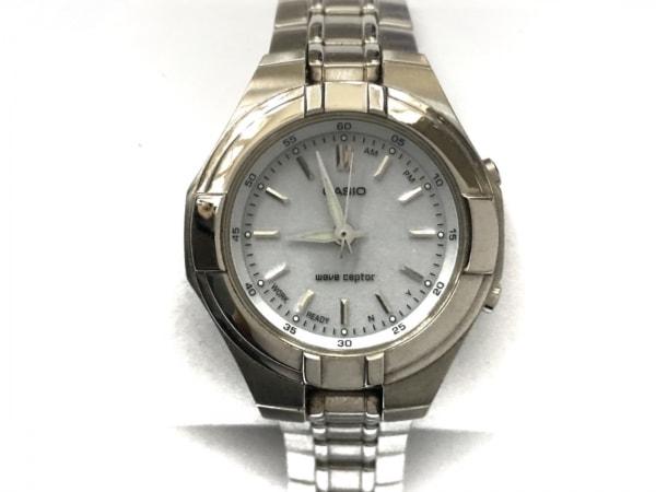 CASIO(カシオ) 腕時計美品  ウェーブセプター LWQ-150 レディース グレー
