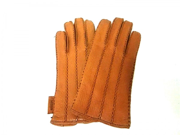 LOEWE(ロエベ) 手袋 7 レディース ブラウン レザー