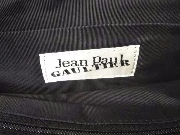 JeanPaulGAULTIER(ゴルチエ) トートバッグ美品  レッド×黒×マルチ ナイロン×レザー