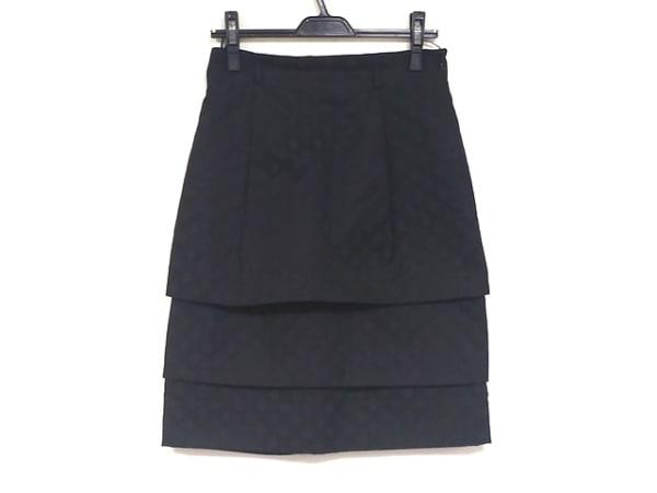 MOSCHINO(モスキーノ) スカート サイズ42 M レディース美品  黒