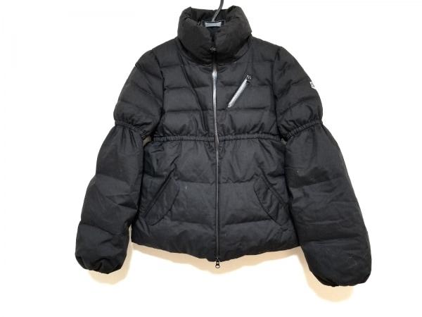 PEARLY GATES(パーリーゲイツ) ダウンジャケット サイズ1 S レディース 黒 冬物