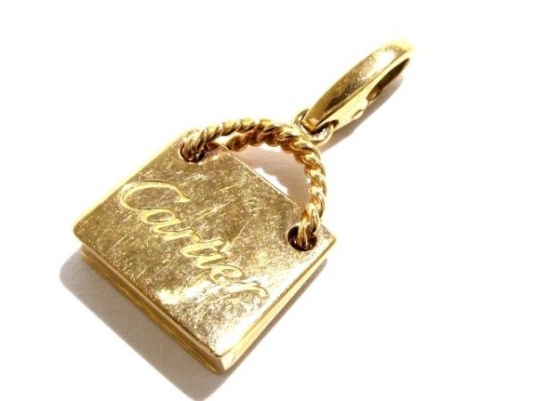 Cartier(カルティエ) ペンダントトップ美品  K18PG バッグモチーフ