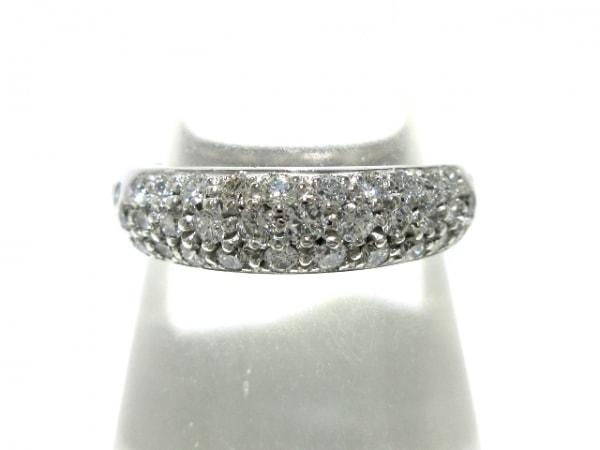 STAR JEWELRY(スタージュエリー) リング美品  K18WG×ダイヤモンド 0.55カラット