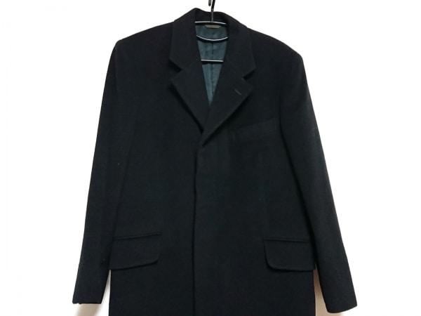 DURBAN(ダーバン) コート メンズ 黒 ネーム刺繍/冬物