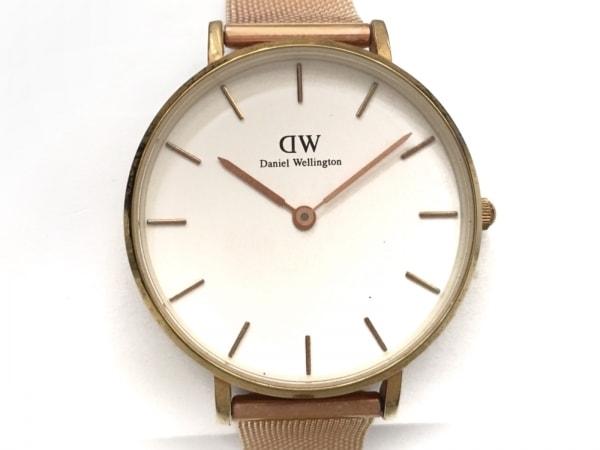 Daniel Wellington(ダニエルウェリントン) 腕時計 レディース 白