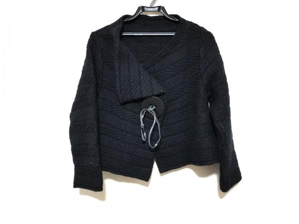 芽風(メフウ/センソユニコ) ジャケット サイズ36 S レディース美品  黒 ニット
