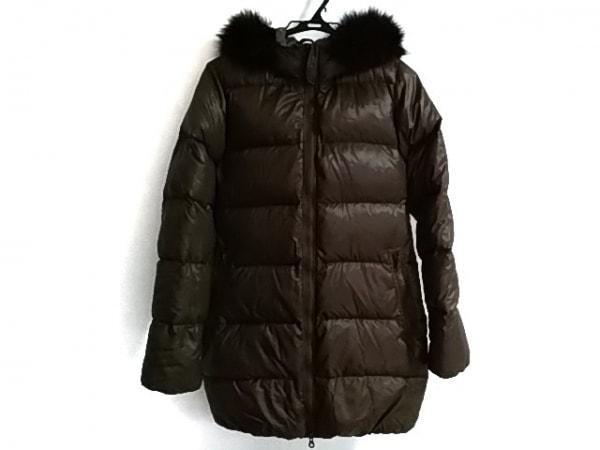 デュベティカ ダウンコート サイズ40 M レディース美品  kappa カーキグレー 冬物