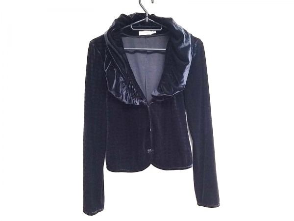 EMPORIOARMANI(エンポリオアルマーニ) ジャケット レディース美品  黒 ベロア