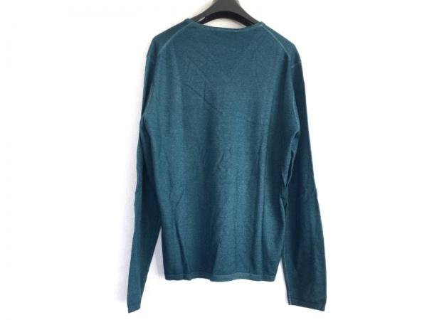 Cruciani(クルチアーニ) 長袖セーター サイズ48 XL メンズ美品  グリーン