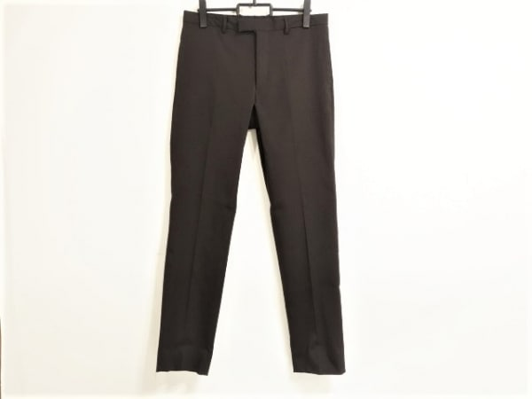 PRADA(プラダ) パンツ サイズ52 L メンズ ダークブラウン