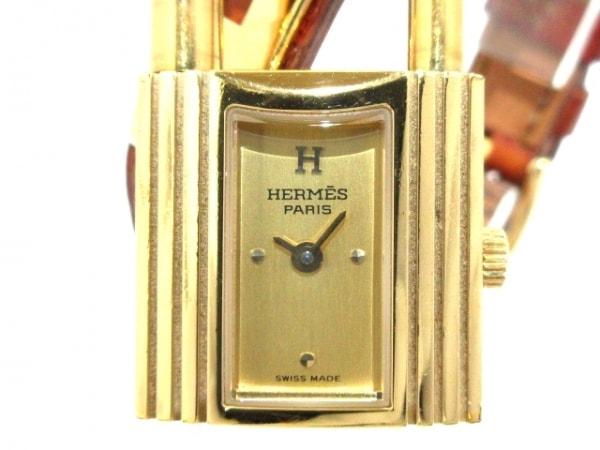 HERMES(エルメス) 腕時計 ケリーウォッチ レディース ゴールド