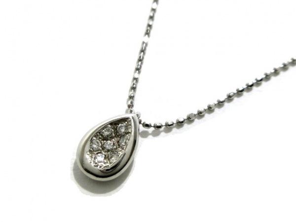 VENDOME(ヴァンドーム青山) ネックレス美品  Pt950×Pt850×ダイヤモンド 7Pダイヤ