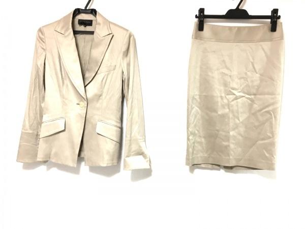 シトラスノーツ スカートスーツ サイズ38 M レディース ベージュ 肩パッド