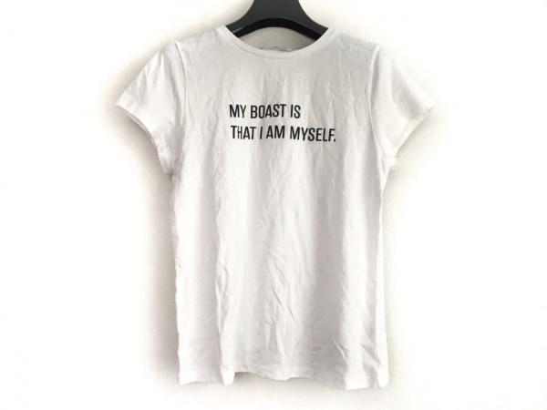 Mystrada(マイストラーダ) 半袖Tシャツ サイズ38 M レディース 白×黒