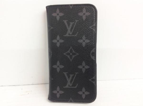 ルイヴィトン 携帯電話ケース モノグラムエクリプス(キャンバス) IPHONE6・フォリオ