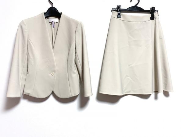 M-PREMIER(エムプルミエ) スカートスーツ サイズ36 S レディース美品  アイボリー