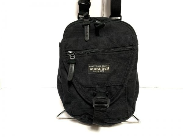 mont-bell(モンベル) ショルダーバッグ美品  黒 ミニサイズ ナイロン