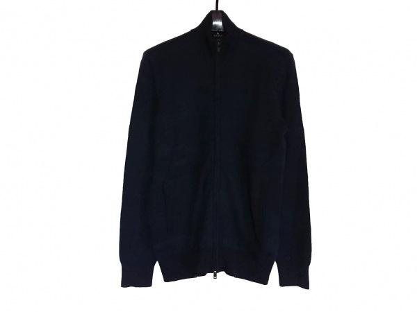セオリー 長袖セーター サイズXS メンズ美品  ダークネイビー×ダークグリーン