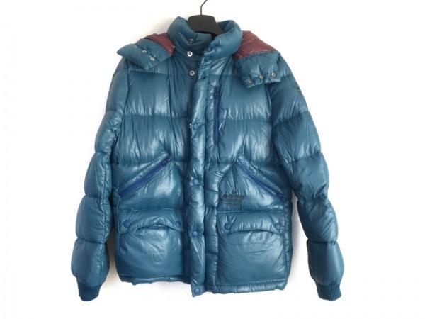 TMT(ティーエムティー) ダウンコート サイズM メンズ ブルー 冬物