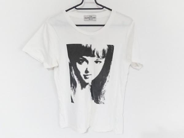 ヒステリックグラマー 半袖Tシャツ サイズF レディース 白×黒×ピンク