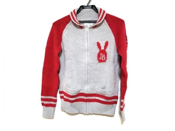 パーリーゲイツ ブルゾン サイズ1 S レディース美品  レッド Jack Bunny