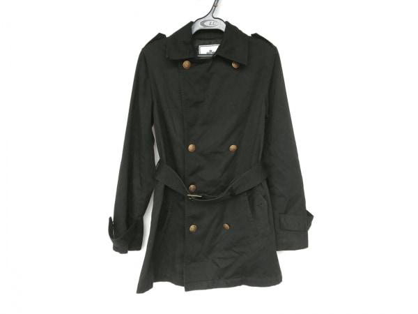 イエナ スローブ コート サイズ38 M レディース新品同様  黒 春・秋物/SLB