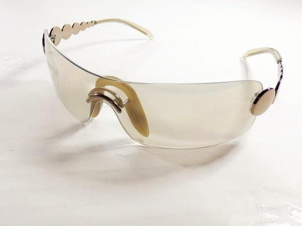 クリスチャンディオール サングラス 41U グレー×シルバー プラスチック×金属素材