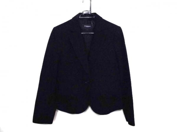 バーバリーロンドン ジャケット サイズ42 XL レディース 黒 春・秋物