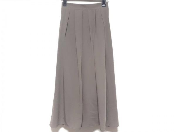 Tiaclasse(ティアクラッセ) ロングスカート サイズM レディース新品同様  グレージュ