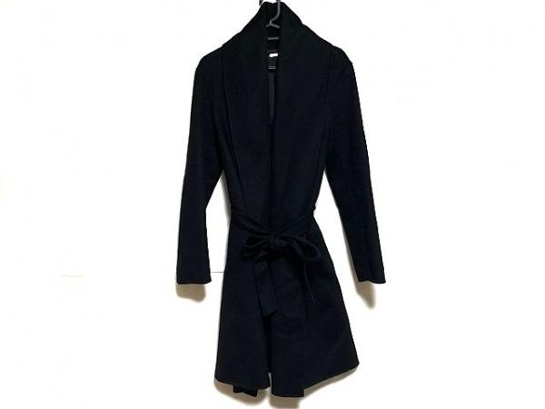 ICB(アイシービー) コート サイズ4 XL レディース美品  黒 冬物