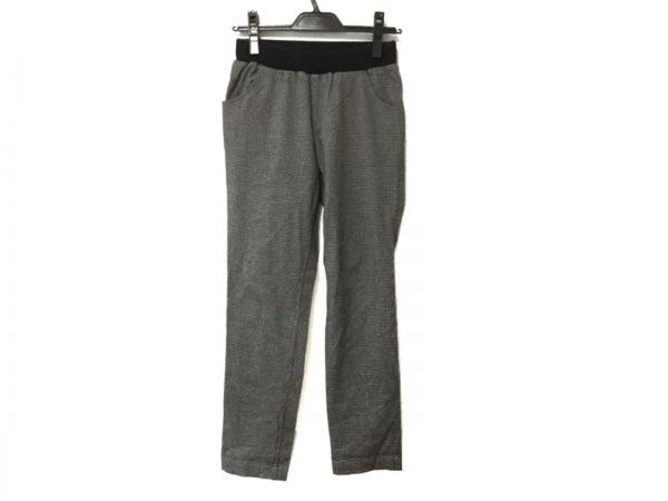 BEARDSLEY(ビアズリー) パンツ サイズF レディース 黒×アイボリー 千鳥格子