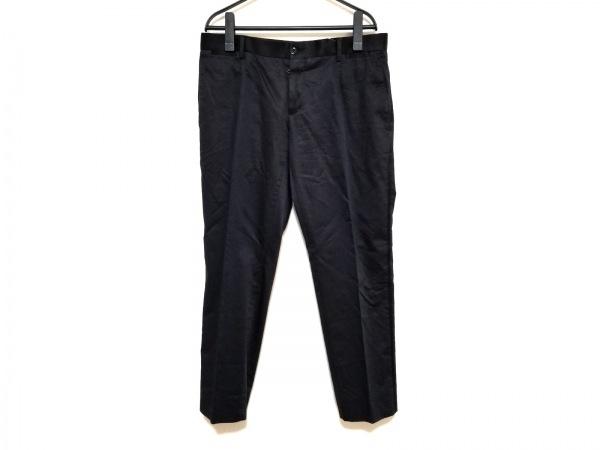 DOLCE&GABBANA(ドルチェアンドガッバーナ) パンツ サイズ46 S メンズ 黒