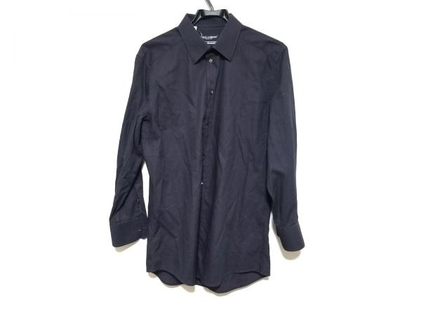 ドルチェアンドガッバーナ 長袖シャツ サイズ16/41 メンズ美品  パープル