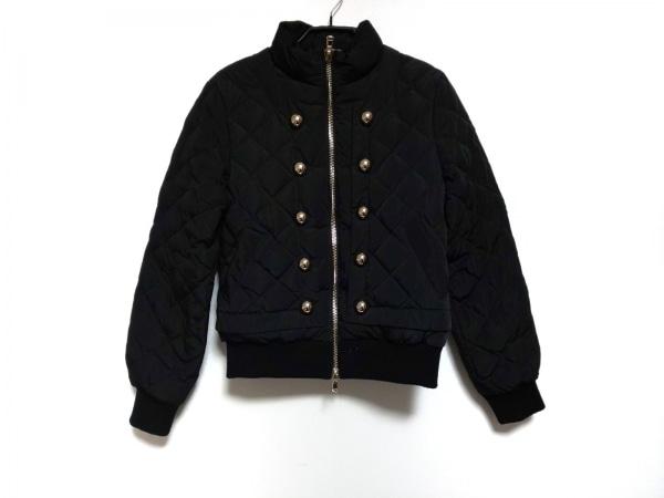 MOSCHINO(モスキーノ) ダウンジャケット レディース 黒 冬物/キルティング
