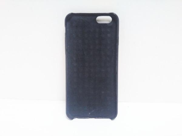 FENDI(フェンディ) 携帯電話ケース - 黒×シルバー×レッド スタッズ