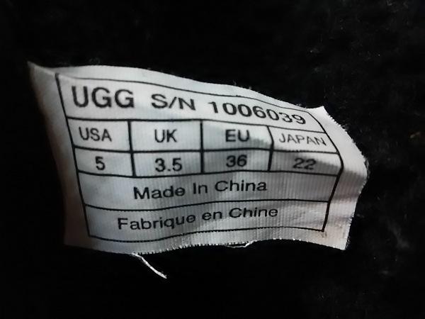 UGG(アグ) ショートブーツ レディース 1006039 黒 ムートン 7