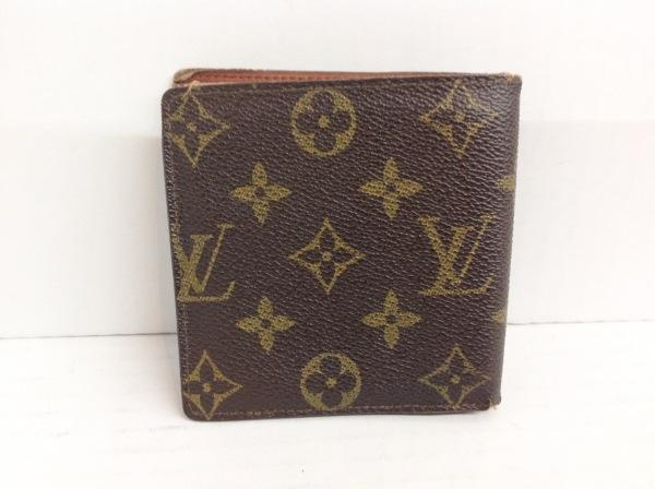 ルイヴィトン 2つ折り財布 モノグラム ポルト ビエ・カルト クレディ モネ M61665