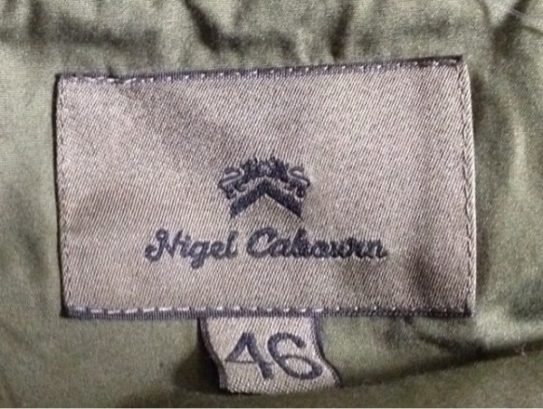 ナイジェルケーボン コート サイズ46 XL メンズ ライトブラウン 春・秋物