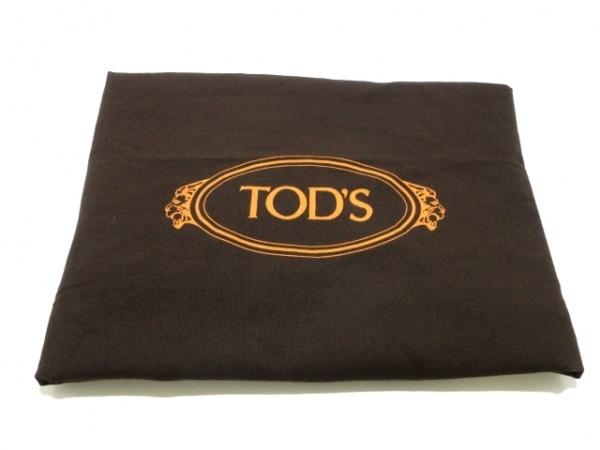 TOD'S(トッズ) トートバッグ美品  ダブルTショッピングバッグラージ 黒 2way レザー